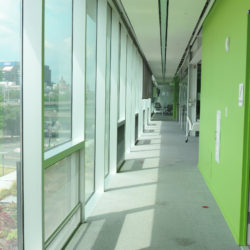 Image of Syracuse Center of Excellence Building Third Floor Hallway