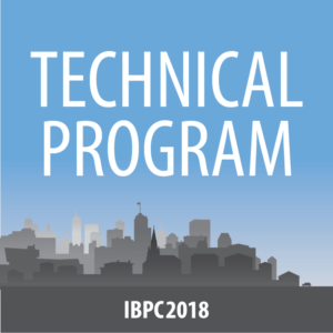 IBPC2018 Technical Program Button